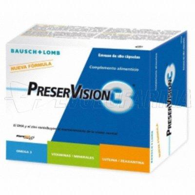 PRESERVISION 3. 60 Cápsulas
