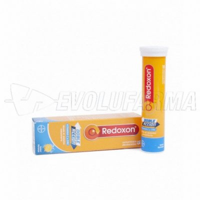 REDOXON DOBLE ACCIÓN, SABOR NARANJA. 15 Comprimidos