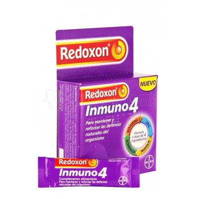 REDOXON INMUNO 4. 14 Sobres sabor Naranja