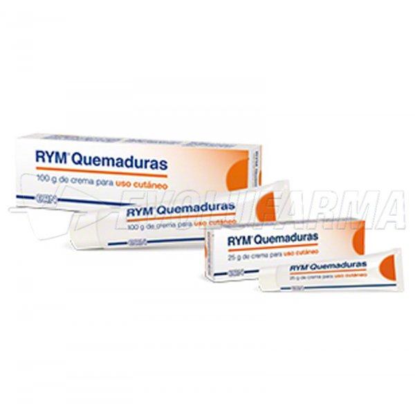 RYM QUEMADURAS CREMA. 25 gr