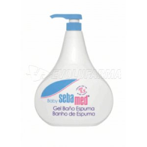 SEBAMED BABY BANO-ESPUMA. Envase de 500 ml.