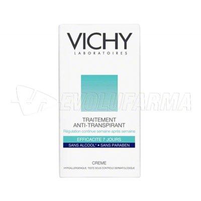 VICHY DÉODORANT. TRATAMIENTO ANTI-TRANSPIRANTE EN CREMA. Envase de 40 ml.
