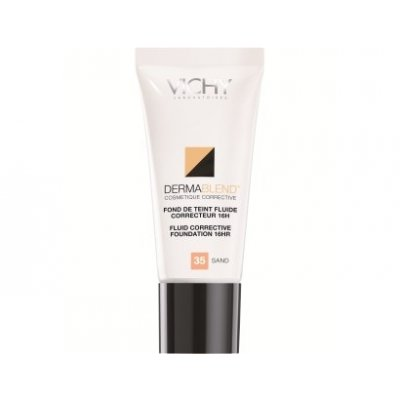 VICHY DERMABLEND FLUIDO CORRECTOR 16H. 45 GOLD.30ml.