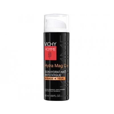 VICHY HOMME, HYDRA MAG C+. Envase de 50 ml.
