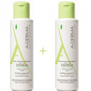 A-DERMA EXOMEGA PACK ACEITE 500ML+500ML