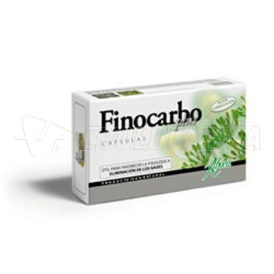 ABOCA FINOCARBO PLUS. Blíster con 20 Cápsulas