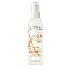 ADERMA PROTECT SPRAY SOLAR NIÑOS F50+ SIN PERFUME 200 ML