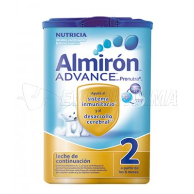 ALMIRON ADVANCE 2 CON PRONUTRA +. Envase 800 gr.