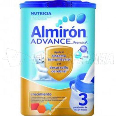 ALMIRON ADVANCE 3 CRECIMIENTO CON PRONUTRA +. Envase 800 gr.