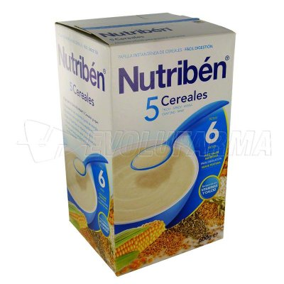 ALTER FCIA NUTRIBEN 5 CEREALES. Envase 600 g.