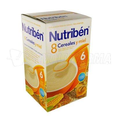 ALTER FCIA NUTRIBEN 8 CERALES y MIEL. Envase 600 g.