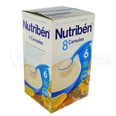 ALTER FCIA NUTRIBEN 8 CEREALES. Envase 600 g.