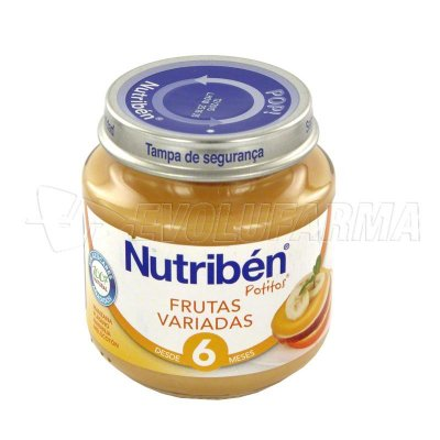 ALTER FCIA NUTRIBEN  FRUTAS VARIADAS. Envase de 250 g.
