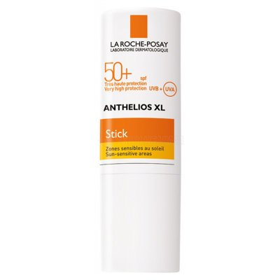 ANTHELIOS XL ZONAS SENSIBLES. SPF 50+. Stick de 9 g.