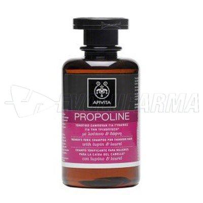 APIVITA PROPOLINE CHAMPÚ TONIFICANTE MUJER. 250 ml