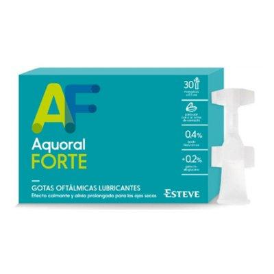 AQUORAL LUBRICANTE FORTE 0.4 % GOTAS OFTALMICAS 30 MONODOSIS 0,5 ML