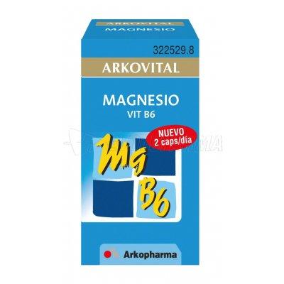 ARKOVITAL PREVENT MAGNESIO VITAMINA B6. 30 comprimidos