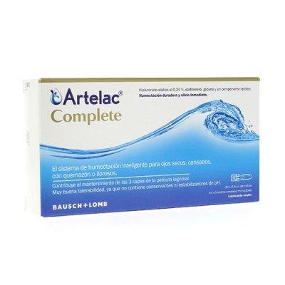 ARTELAC COMPLETE ESTERIL GOTAS OCULARES 0.5 ML 30 MONODOSIS