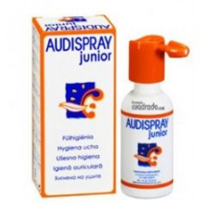 AUDISPRAY JUNIOR SOLUCION LIMPIEZA OTICA 10 ML SPRAY 200 PULVERIZACIONES