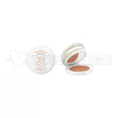 AVENE COMPACTO COLOR DORADO - SPF 50 - Polvera de 10 g.