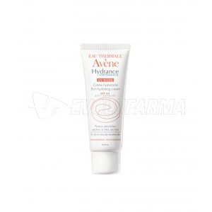 AVENE HYDRANCE OPTIMALE UV ENRIQUECIDA. SPF 20. Tubo 40 ml.