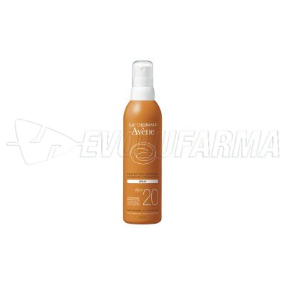 AVENE SOL – SPF 20 – Spray 200 ml.