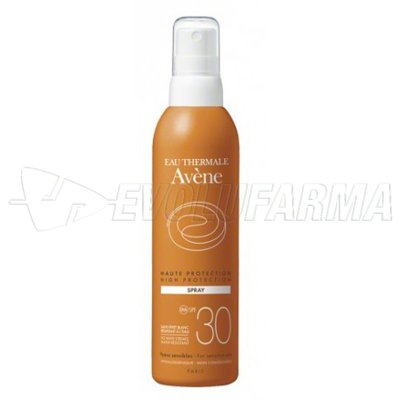 AVENE SOL – SPF 30 – Spray de 200 ml.