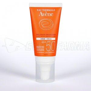 AVENE SOL - SPF 50+ - CREMA. Tubo 50 ml.
