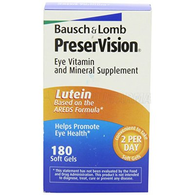 BAUSCH & LOMB PRESERVISION 3 VIT LUTEINA OME