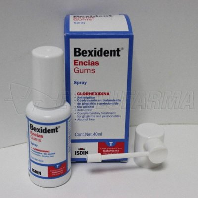 BEXIDENT ENCÍAS, SPRAY. Spray de 40 ml.