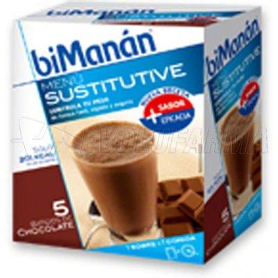 BIMANÁN BATIDO CHOCOLATE,5 sobres