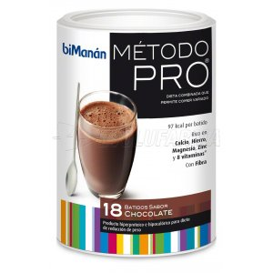 BIMANÁN METODO PRO BATIDO ECO CHOCOLATE, 18 comidas