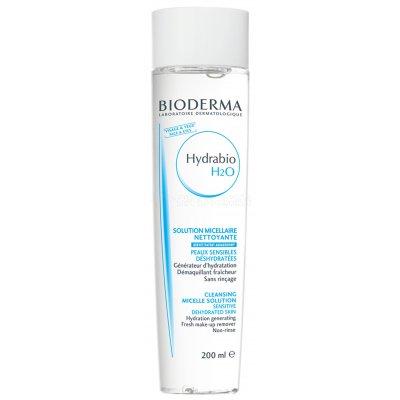 BIODERMA HYDRABIO H2O. Envase de 200 ml.
