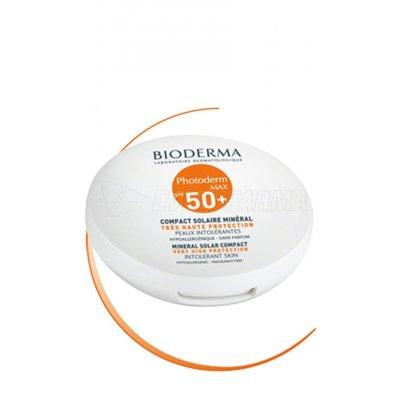 BIODERMA PHOTODERM MAX COMPACT DORADO SPF 50+. Estuche de 10 gr.