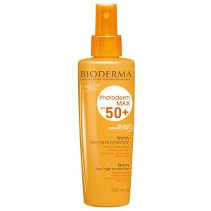BIODERMA PHOTODERM MAX SPF 50+. Spray de 200 ml.