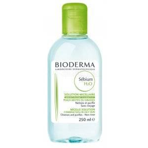 BIODERMA SEBIUM H2O. Envase de 250 ml.
