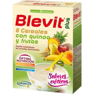 BLEVIT 8 CEREALES QUINOA. Envase 300g
