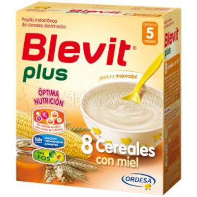 BLEVIT PLUS 8 CEREALES CON MIEL, 300g