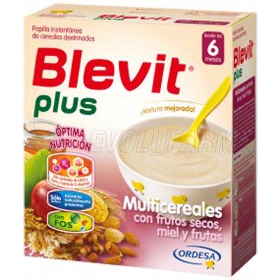 BLEVIT PLUS MULTICEREALES  CON MIEL, FRUTOS SECOS Y FRUTAS, 300g