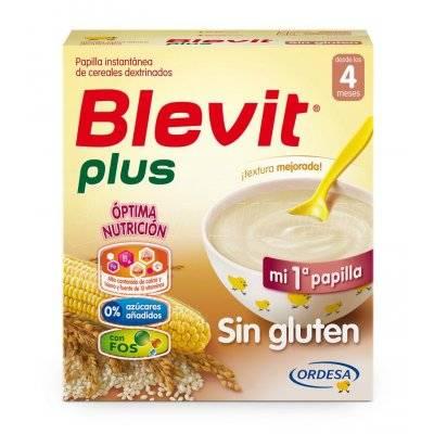 BLEVIT PLUS SIN GLUTEN. Estuche de 600 g.