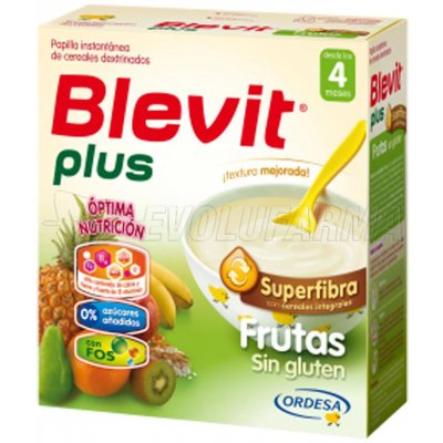 BLEVIT PLUS SUPERFIBRA FRUTAS, 600g