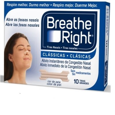 BREATHE RIGHT TIRA ADH NASAL T- PEQ-MED 10 U