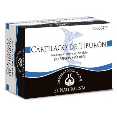 CARTILAGO DE TIBURON EL NATURALISTA  60 CAPS
