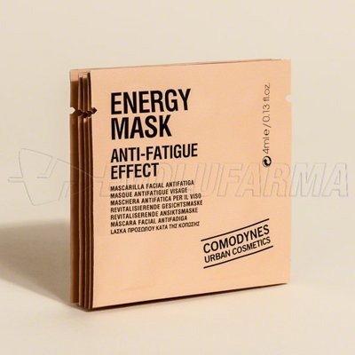 COMODYNES ENERGY MASK MASCARILLA FACIAL ANTIFATIGA. 5 Unidades