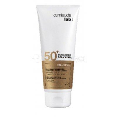 CUMLAUDE SUNLAUDE SPF 50+ GEL-CREMA CORPORAL. Envase 200 ml