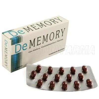 DE MEMORY. 30 Cápsulas