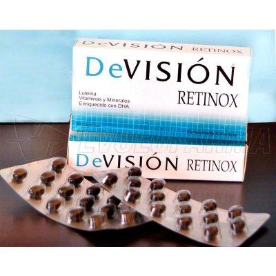 DEVISION RETINOX ENRIQUECIDO CON DHA. 30 cápsulas