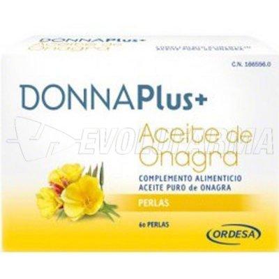 DONNAPlus+ ACEITE DE ONAGRA PERLAS, 60 Perlas