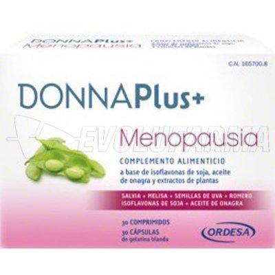 DONNAPlus+ MENOPAUSIA, 30 Caps + 30 Comp