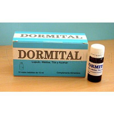 DORMITAL. 10 Viales bebibles de 10 ml